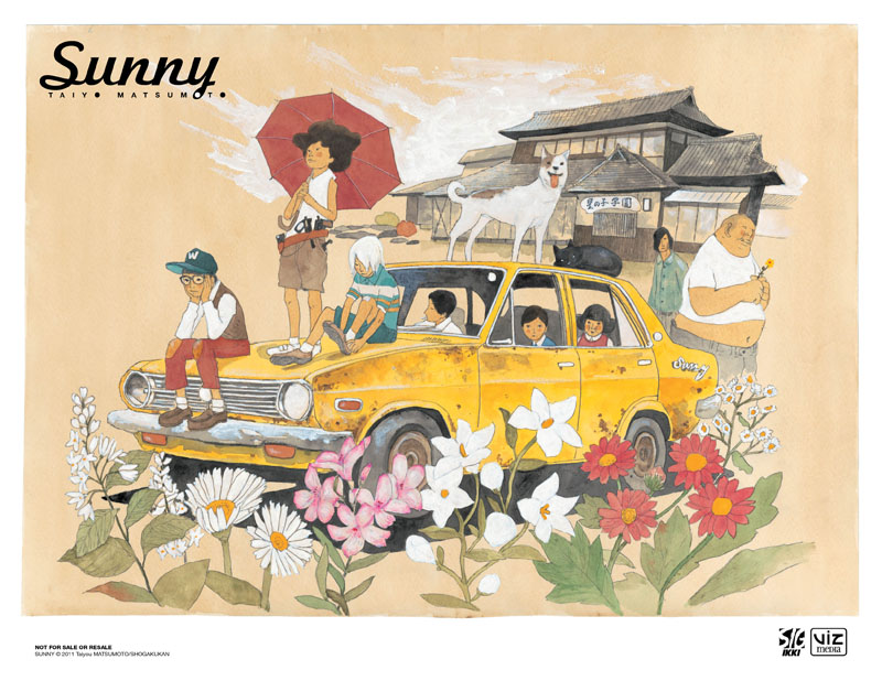 Review Sunny Volume 1 By Taiyo Matsumoto The Beguiling