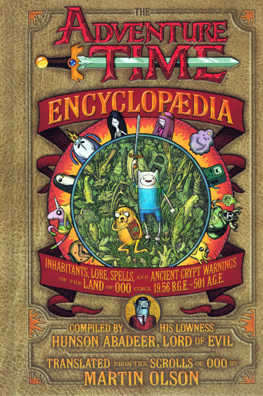 Adventure Time Encyclopedia cover - small