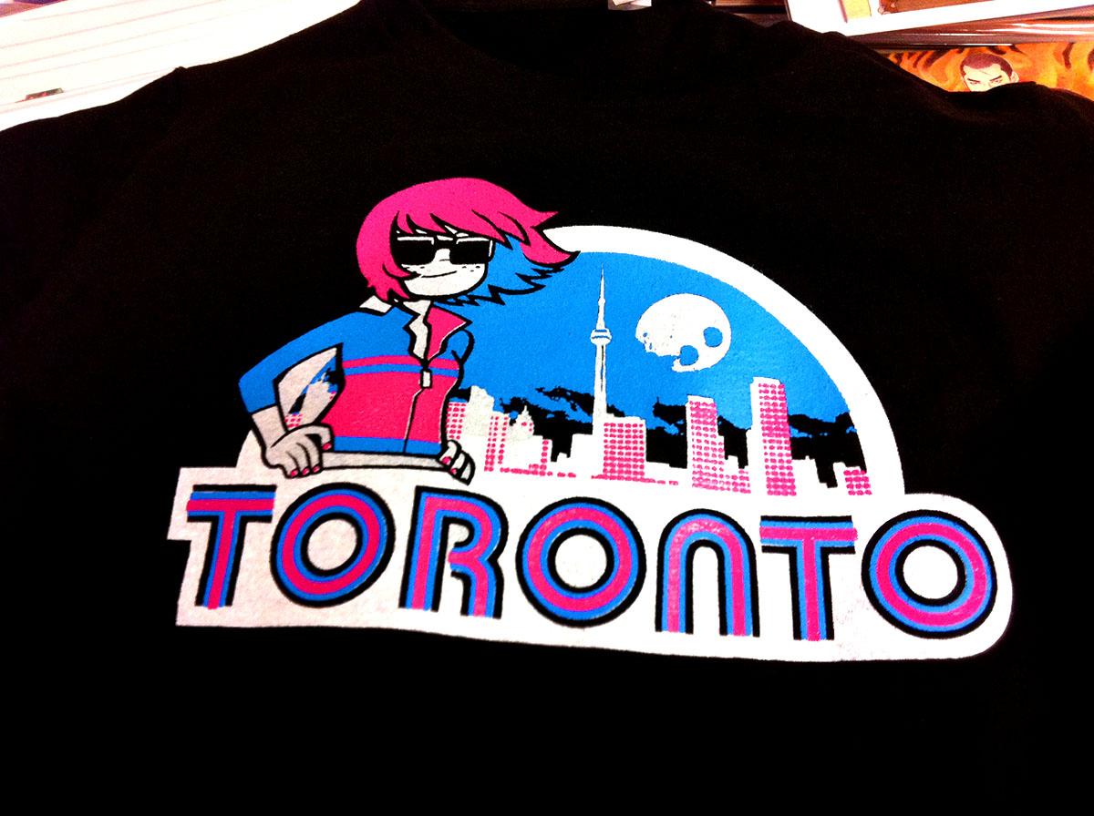 Shirt design toronto - Toronto T Shirt Featuring Kim Pine From The Scott Pilgrim Series Now In