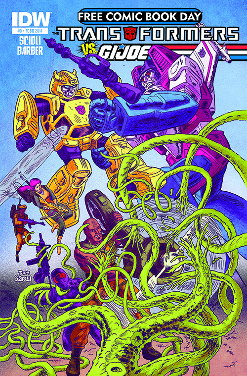 Transformers vs. GI Joe #0 FCBD 2014
