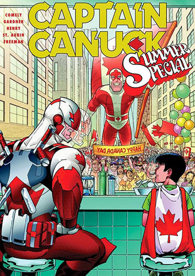 CaptainCanuck2014SummerSpecial