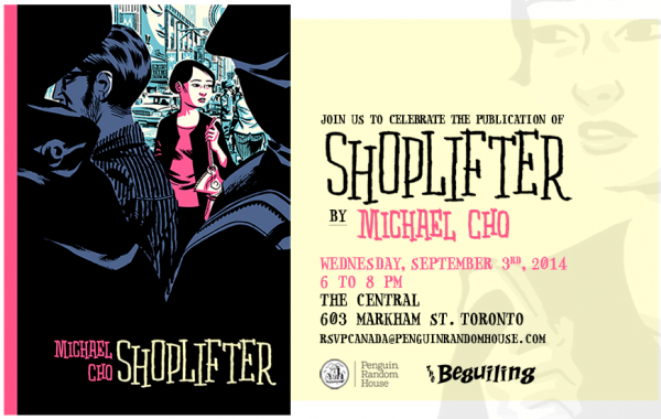 Shoplifter-launch-invite
