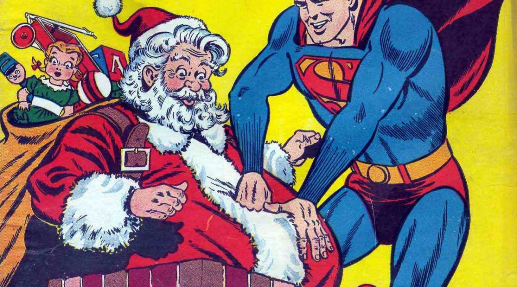 santa superman slice