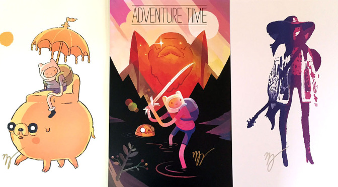 Now In Stock! Adventure Time Prints by Matt Forsythe