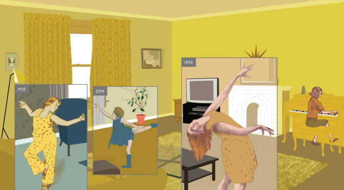 EVENT: Richard McGuire, author of HERE, in Toronto FEB 12