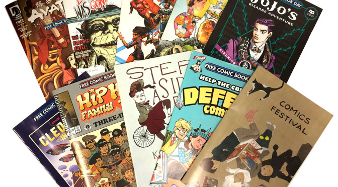 FREE COMICS BOOK DAY! SAT MAY 2, @ The Beguiling, Little Island, and The TCAF Shop!