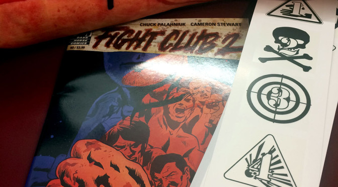 Fight Club 2 Scratch & Sniff Bookmarks Now Available! Enter the contest!