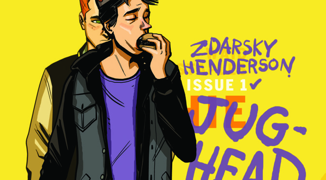 Chip Zdarsky Signs JUGHEAD #1, October 7th @ Little Island Comics