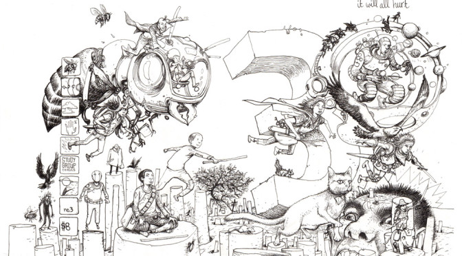 New In The Art Store: Farel Dalrymple!