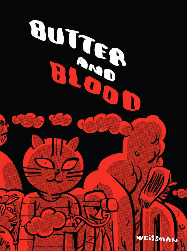 butter and blood cover