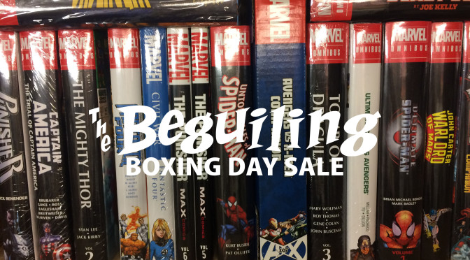 BEGUILING BOXING DAY SALE PHASE 1: DEC 26-29