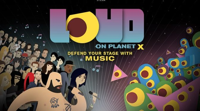 Loud on Planet X with a super limited postcard by Jesse Jacobs or Michael DeForge
