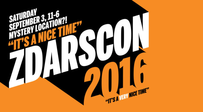 #ZDARSCON is coming September 3rd! GET READY FOR IT!