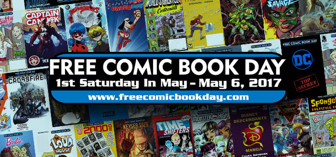 Sat May 6: FREE COMIC BOOK DAY @ THE BEGUILING + PAGE & PANEL!
