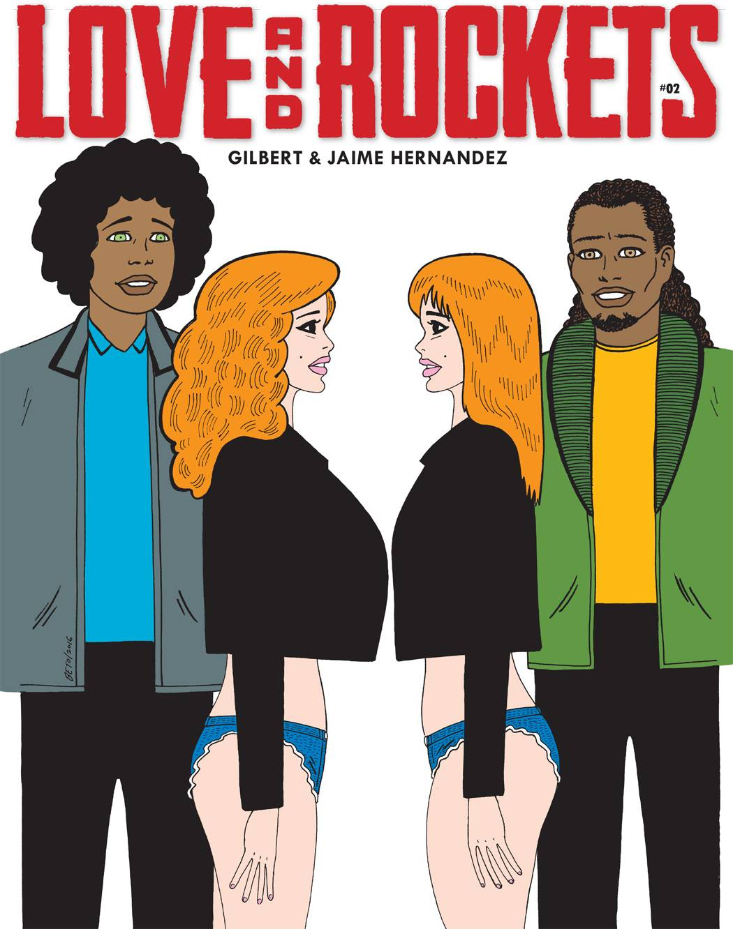 LOVE & ROCKETS MAGAZINE #2