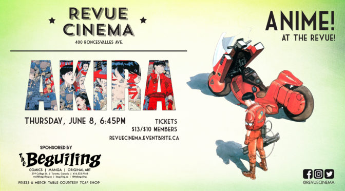 JUNE 6: AKIRA Screening & Contest