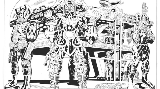 Jack Kirby LORD OF LIGHT Print Auction!