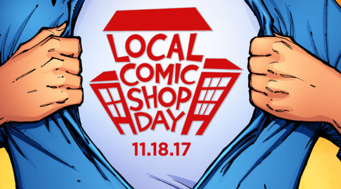 Saturday November 18: Local Comic Shop Day @ The Beguiling and Page & Panel