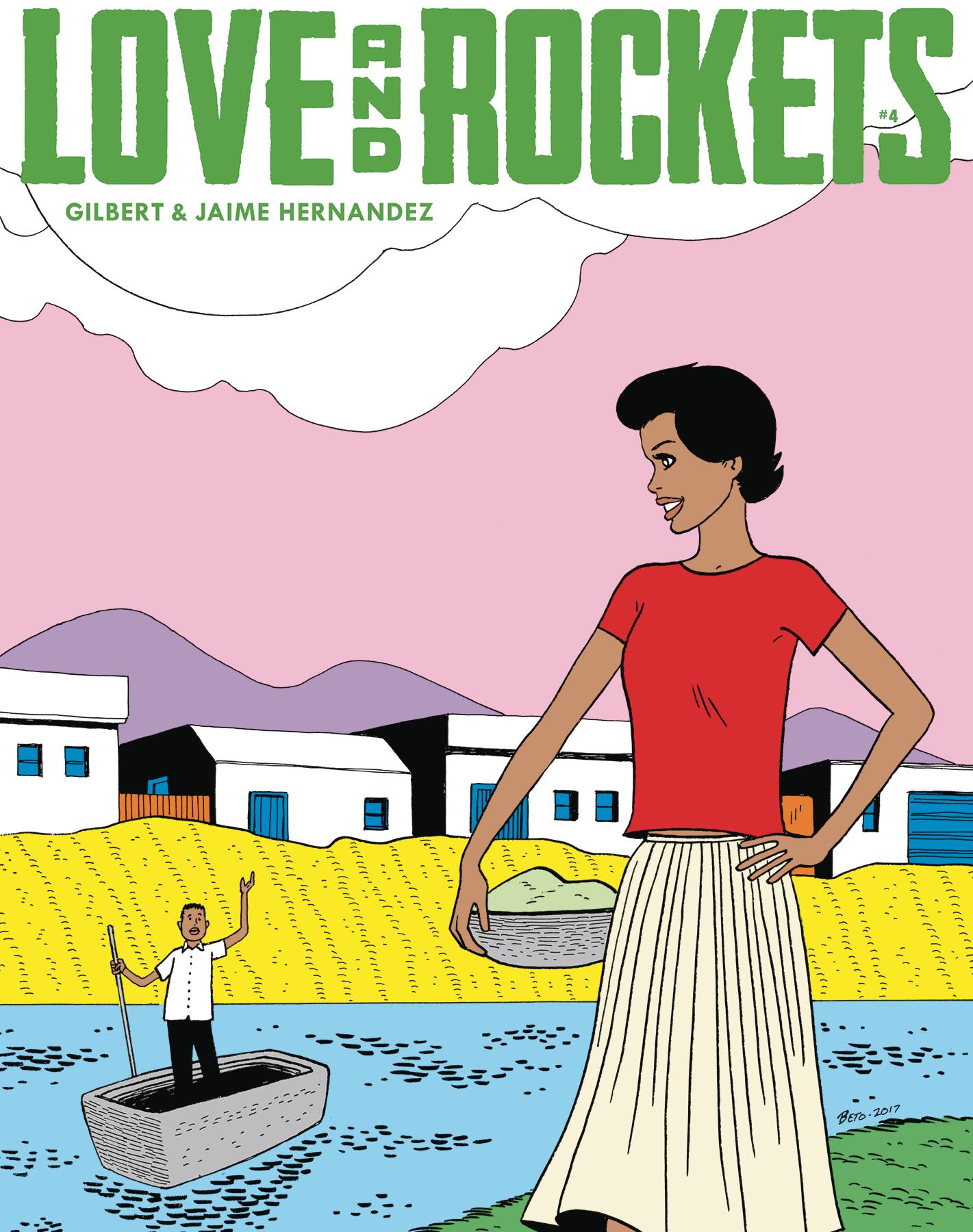 LOVE & ROCKETS MAGAZINE #4
