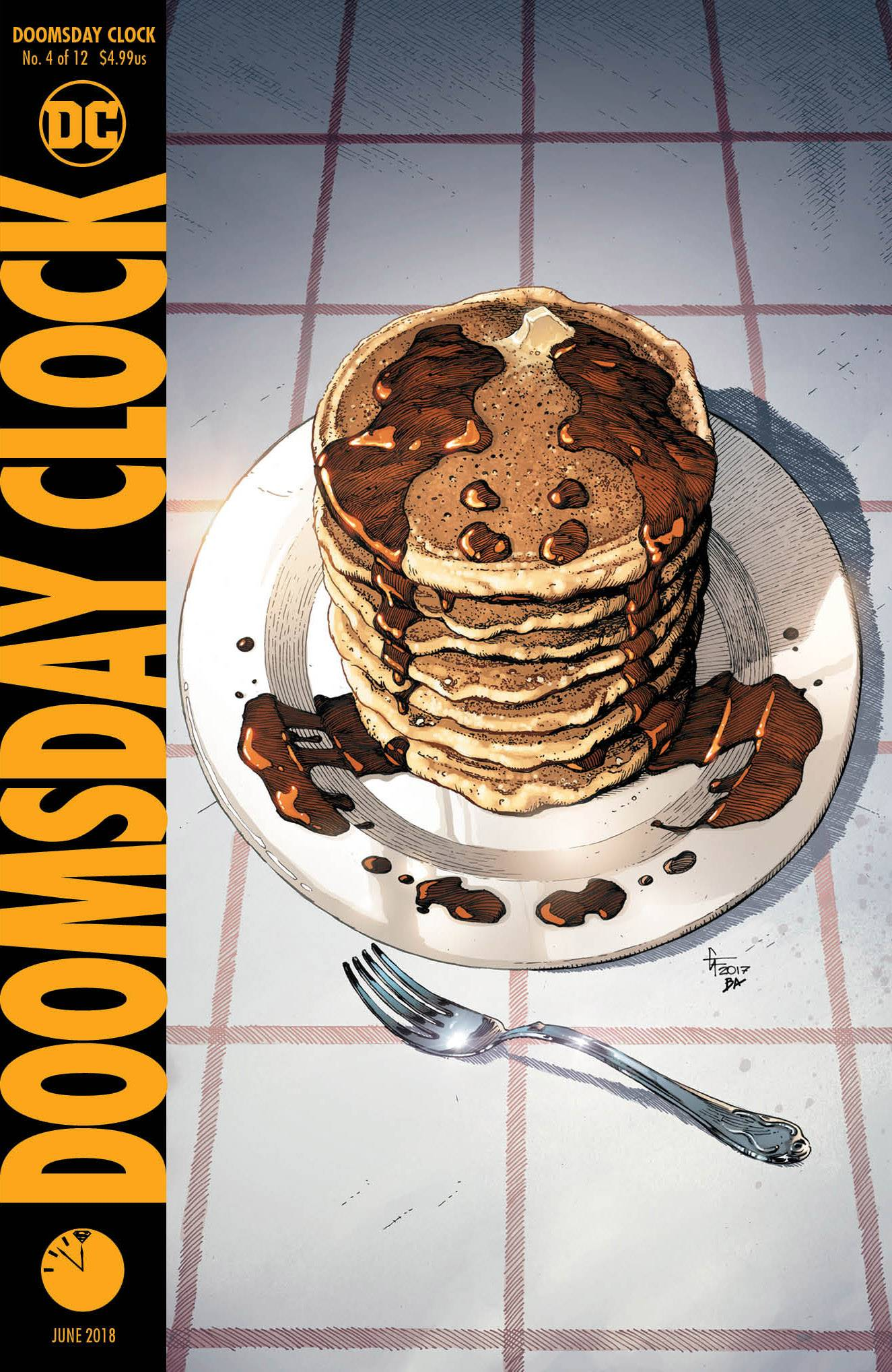 DOOMSDAY CLOCK #4 (OF 12)