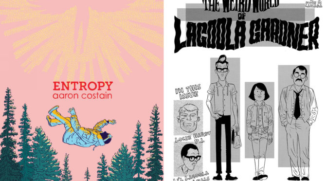 NEW IN THE ART STORE: AARON COSTAIN & ZACH WORTON!