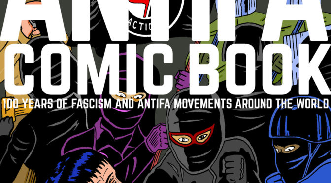 OCT 10: GORD HILL THE ANTIFA COMIC BOOK LAUNCH EVENT!
