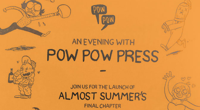 SEPTEMBER 22: POW POW PRESS AT THE BEGUILING!