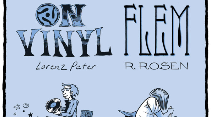 "NOV 16: LORENZ PETER ""ON VINYL"" & REBECCA ROSEN ""FLEM"" CONUNDRUM FALL LAUNCH EVENT!"