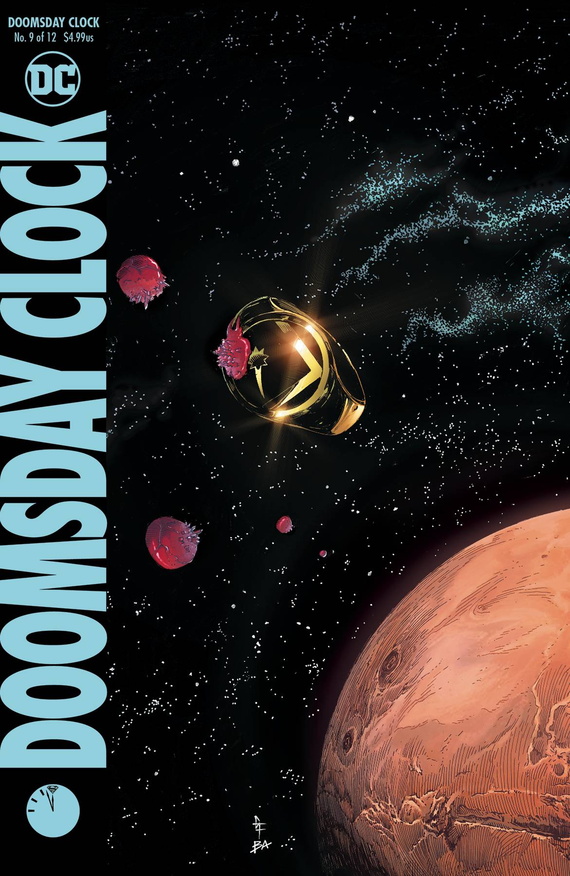 DOOMSDAY CLOCK #9 (OF 12)