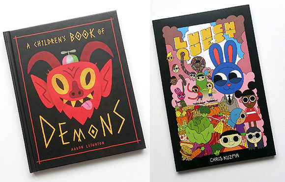 "SUN JUNE 2: KOYAMA KIDS LAUNCH! AARON LEIGHTON & CHRIS KUZMA ""A CHILDREN'S BOOK OF DEMONS"" & ""LUNCH QUEST""!"