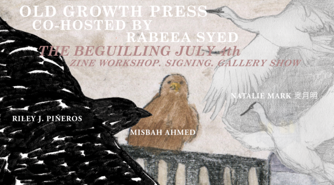 JULY 4: OLD GROWTH PRESS LAUNCH EVENT!