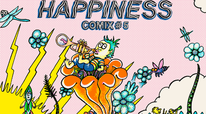 "AUG 5: HAPPINESS COMIX #5 LAUNCH W SCREENING OF MATTHEW THURBER'S ""FLEEGIX""!"