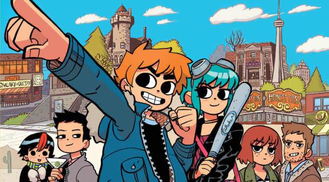 AUG 18: SCOTT PILGRIM'S 15TH ANNIVERSARY FILM SCREENING, WITH CREATOR BRYAN LEE O'MALLEY!