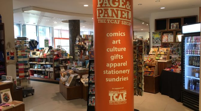 FUNDRAISER FOR PAGE & PANEL: THE TCAF SHOP