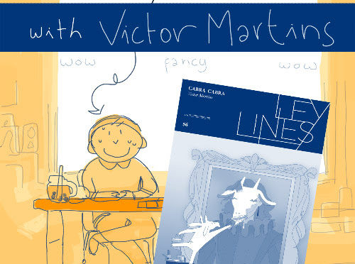 "MAY 22: VICTOR MARTINS ""LEY LINES: CABRA CABRA"" VIRTUAL LAUNCH ON INSTAGRAM!"