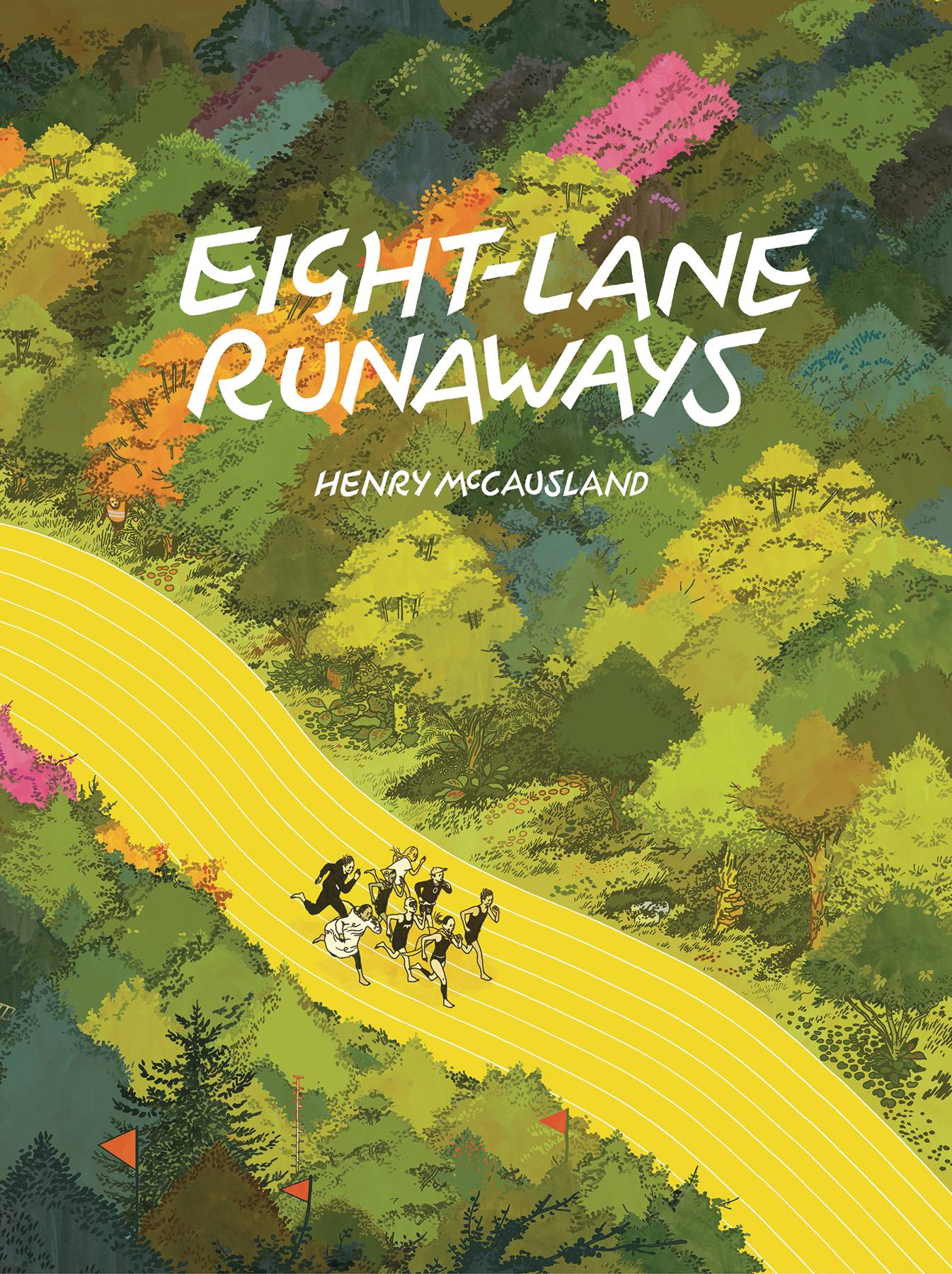 EIGHT-LANE RUNAWAYS HC