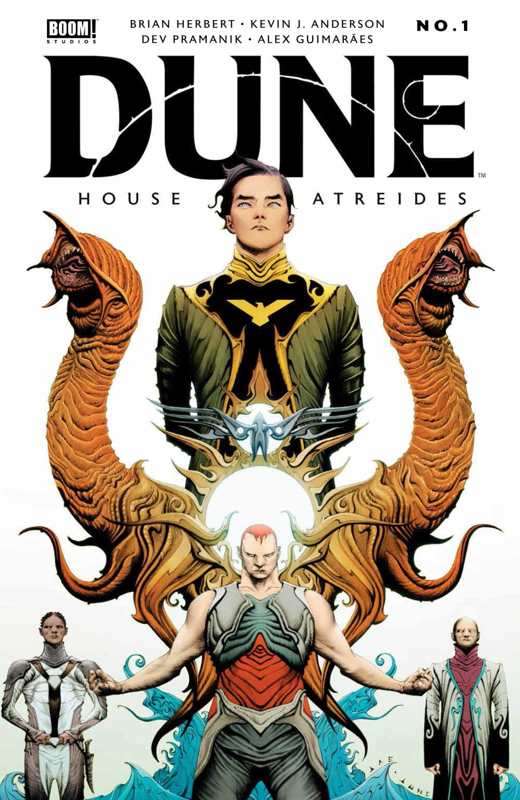 DUNE HOUSE ATREIDES #1 (OF 12) CVR A LEE