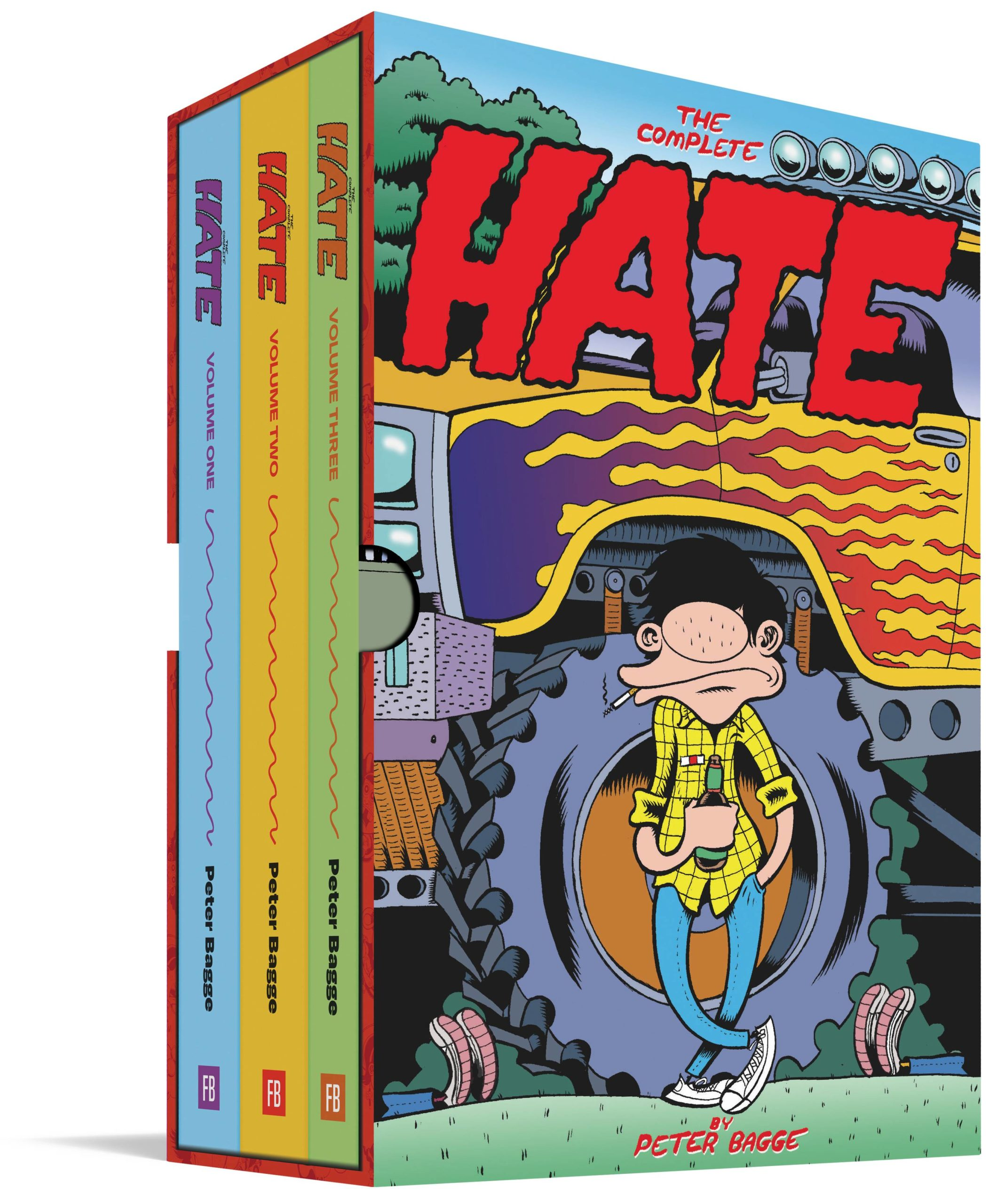 COMPLETE HATE HC PETER BAGGE