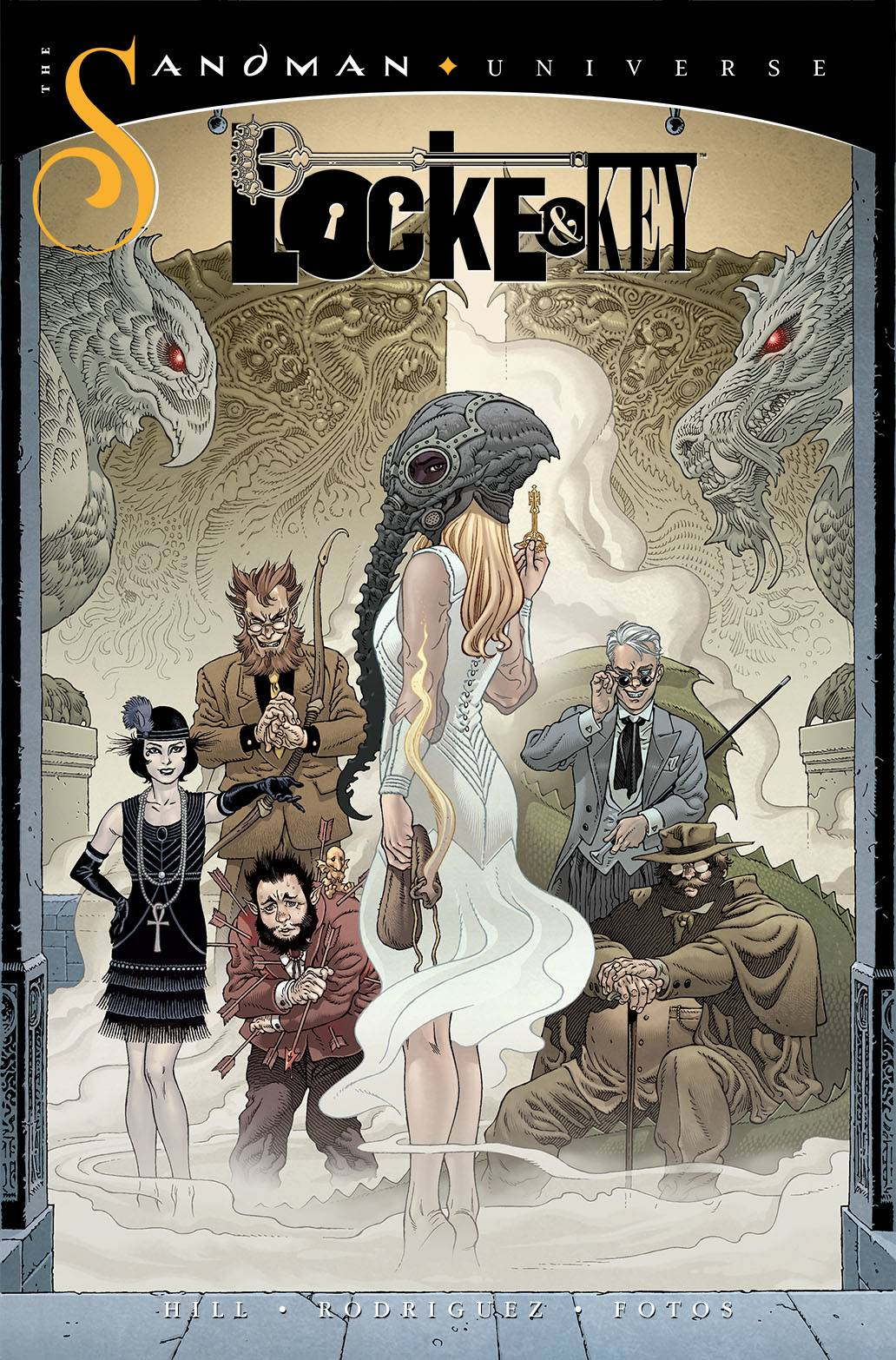 LOCKE & KEY SANDMAN HELL & GONE #1 CVR A RODRIGUEZ