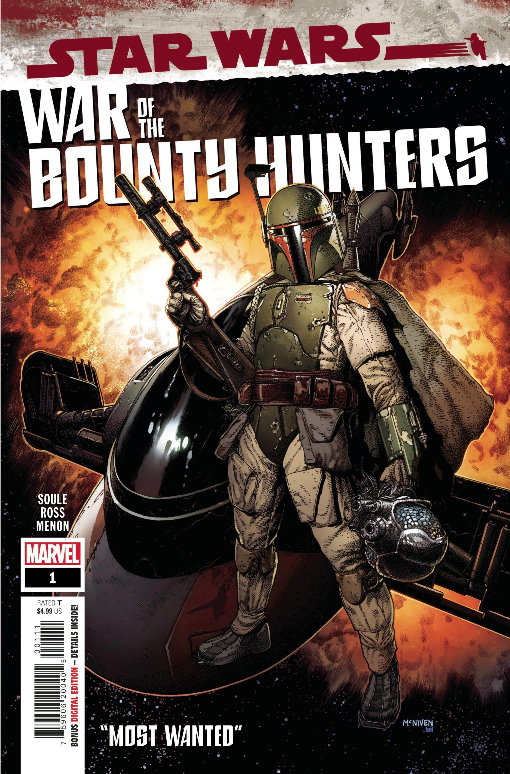 STAR WARS WAR BOUNTY HUNTERS #1 (OF 5)
